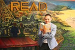 Gerardo Ochoa READ Poster by Natalia Wan and Nicholson Library Staff