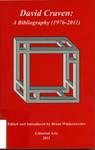 David Craven: A Bibliography (1976-2011)