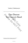 Dos Danzas by Andrea L. Reinkemeyer