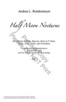 Half Moon Nocturne by Andrea L. Reinkemeyer