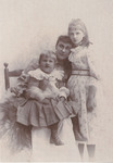 Emily Loveridge's Sister, Niece, and Nephew by Unknown