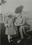 """Helen and """"Aunt Emily [Loveridge]"""" by Unknown"""