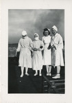 Nursing Students on the Roof 02 by Unknown