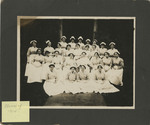 Class of 1914 in Front of the Nurses' Home