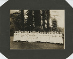 Nursing Students on the Hospital Grounds by Unknown