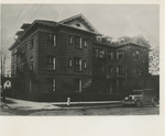 Corner of the Nurses' Home Building 01 by Unknown