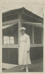 Nurse Mary Keech at Kula Sanatorium