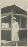 Nurse Mary Keech at Kula Sanatorium by Unknown
