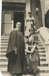 Ira Manville and Nurse Grace Manville by Unknown