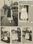 Collage of Photographs of Nursing Students by Unknown