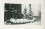 Snowy Scene Outside Student Nurses' Home 02 by Unknown
