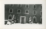Snow-Covered Graduate Nurses' Home 01 by Unknown