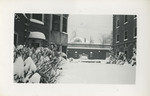 Snowy Nurses' Courtyard by Unknown