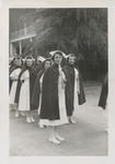 Nursing Graduates Outside of Student Nurses' Home