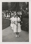 Processional of the Nursing Graduates by Unknown