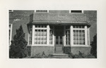 Front of Graduate Nurses' Home by Unknown
