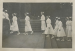 Nursing Graduates Outside Church 04 by Unknown