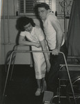Nursing Student Helping with Physical Therapy