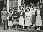 """The 1954 Honors """"A"""" Class by Unknown"""