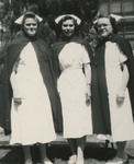 Three Nursing Students in Uniform