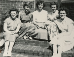 Nursing Students Enjoying the Sunshine by Unknown