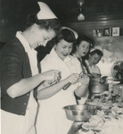 Nursing Students Cooking by Unknown