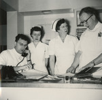 Hospital Staff at Medical Center by Unknown