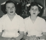 Two Nursing Students Side-by-Side