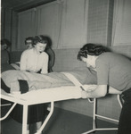 Two Nursing Students Making the Bed