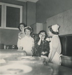 Nursing Students Sampling Food