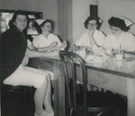 Nursing Students Getting Refreshments by Unknown