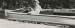 Nursing Student In Canoe by Unknown