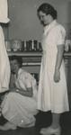 Nursing Students in Kitchen by Unknown