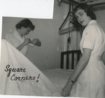 Nursing Students Making Bed by Unknown