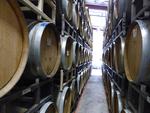 Beckham Estate Vineyard French Oak Wine Barrels by Linfield College Archives