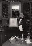 Phillip DeVito with Award