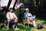 Men Resting at Elton Vineyards