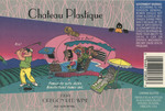 Chateau Plastique 1994 Oregon Red Wine Label by Knudsen Erath Winery