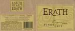 Erath Vineyards 2004 Oregon Pinot Gris Wine Label