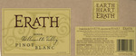 Erath Vineyards 2004 Willamette Valley Pinot Blanc Wine Label