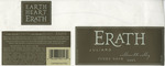 Erath Vineyards 2003 Willamette Valley Pinot Noir (Juliard) Wine Label