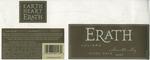Erath Vineyards 2003 Willamette Valley Pinot Noir (Juliard) Wine Label by Erath Vineyards
