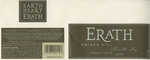 Erath Vineyards 2000 Willamette Valley Pinot Noir (Prince Hill) Wine Label by Erath Vineyards