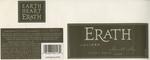 Erath Vineyards 2000 Willamette Valley Pinot Noir (Juliard) Wine Label by Erath Vineyards