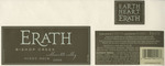 Erath Vineyards 2000 Willamette Valley Pinot Noir (Bishop Creek) Wine Label