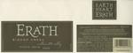 Erath Vineyards 2000 Willamette Valley Pinot Noir (Bishop Creek) Wine Label by Erath Vineyards
