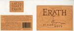 Erath Vineyards 2004 Oregon Pinot Noir Wine Label by Erath Vineyards