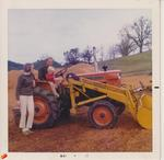 Girardet Family with Tractor