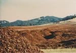 View of Vineyard under Construction by Philippe Girardet