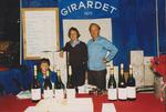 Philippe and Bonnie Girardet at Wine Booth by Unknown